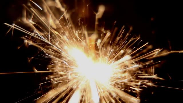 Close-up Sparkler video