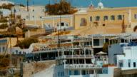 Close-up Tilting Shot of Traditional Mediterranean Villas video