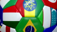 Close-Up World Cup Soccer Ball video