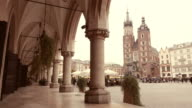 Cloth Hall of Krakow 4k video video