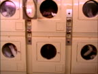 Clothes dryers running video