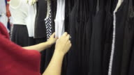 clothing store video