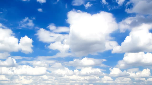 cloud and blue sky video