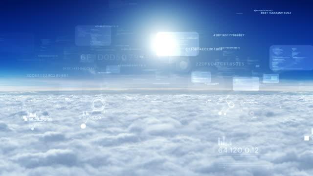 Cloud carpet, seamless loop video