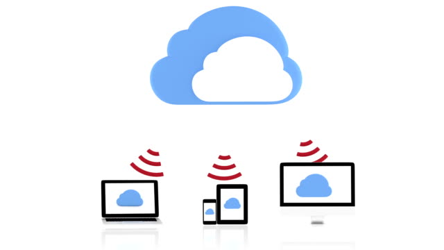 Cloud computing concept video