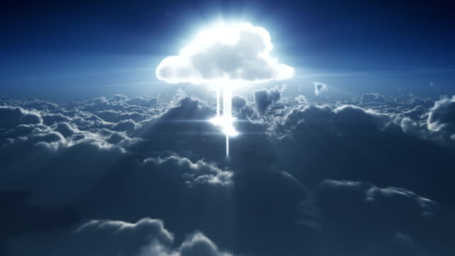Cloud computing in the clouds video