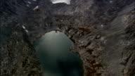 Cloud Peak  - Aerial View - Wyoming, Big Horn County, United States video