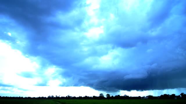 Cloud rain Time Lapse video