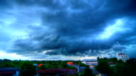 Cloud rain Time Lapse (HDR) video