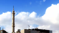 clouds and mosque video