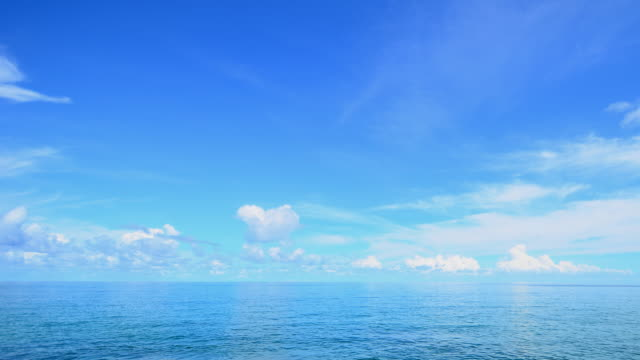 Clouds and ocean Andaman video