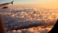 Clouds at sunrise. video