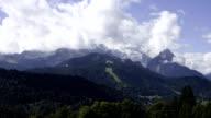 Clouds at Wetterstein video