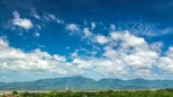 Clouds on Kwan Phayao Lake,Time Lapse video