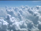 Clouds Passing Airplane Window 1 video