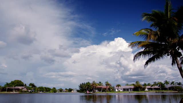 Clouds time lapse. Cape Coral, Florida video