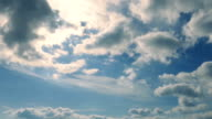 Cloudscape Illuminated By The Sun video