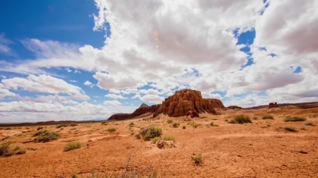 T/L 8K Cloudscape over the desert of Utah video
