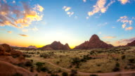 T/L WS Cloudscape Over The Spitzkoppe video
