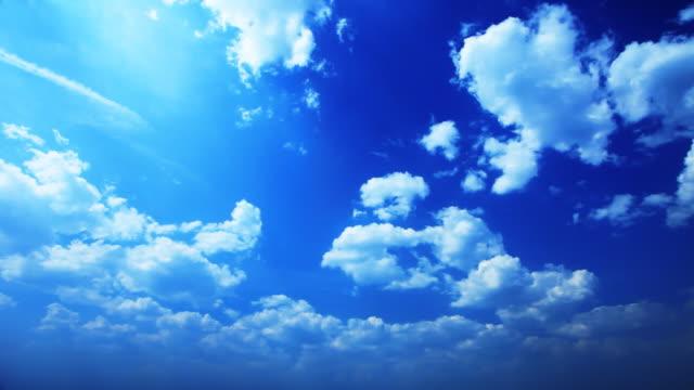 Cloudscape time lapse video video