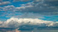 HD TIME-LAPSE: Cloudscape video