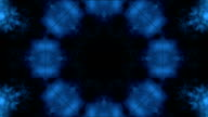 Cloudy tunnel kaleidoskope video