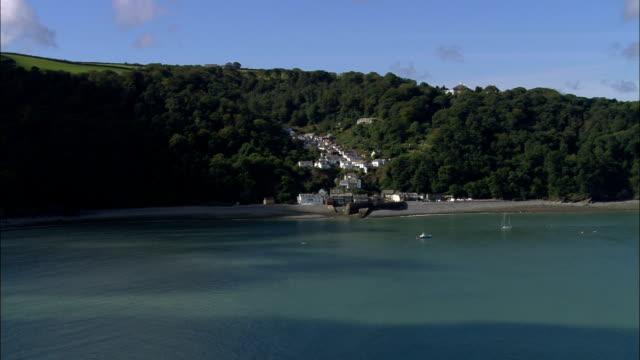 Clovelly  - Aerial View - England, Devon, Torridge District, United Kingdom video