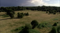 Clumber Park  - Aerial View - England, Nottinghamshire, Bassetlaw, United Kingdom video