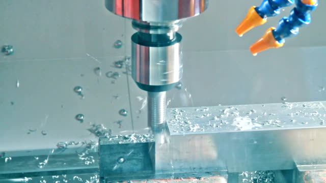 cnc machine video