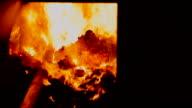 Coal boiler video