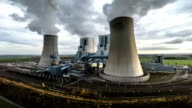 AERIAL : Coal Burning Power Plant video