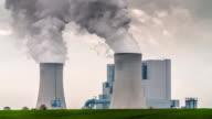 Coal burning power station video