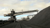 Coal conveyor and stockpile video