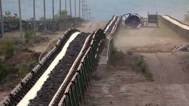 Coal Conveyor belt video
