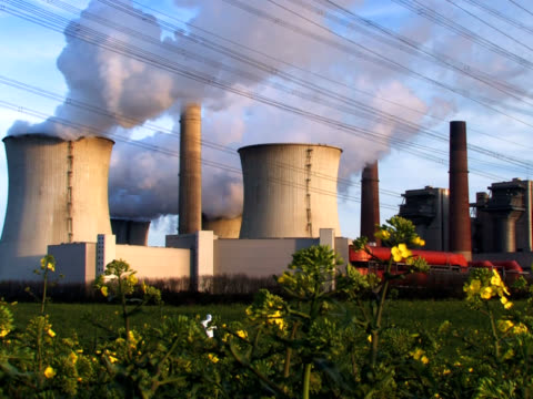 PAL: Coal fired Power Station video