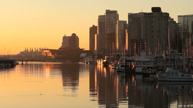 Coal Harbor Reflections, Vancouver video