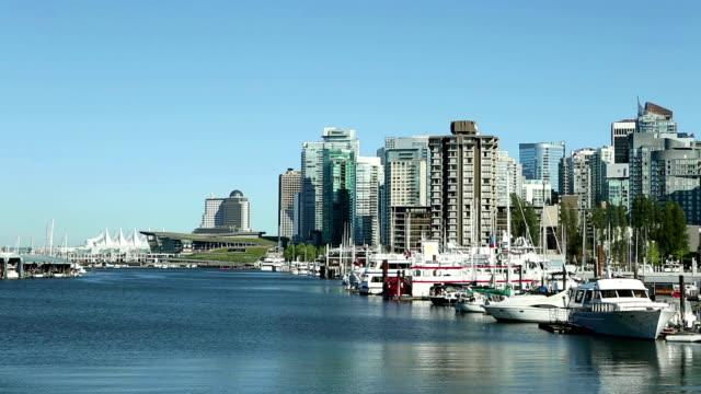 Coal Harbour Vancouver British Columbia Canada video