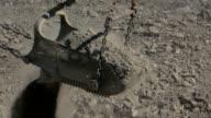 Coal Mine - Drag Line bucket/shovel - full swing video