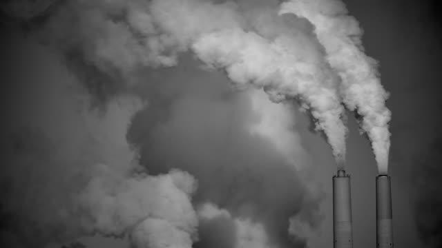 Coal Power Black & White HD video