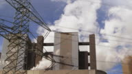 HD Coal Power Plant and Electric Pylon (4:2:2@100 Mb/s) video