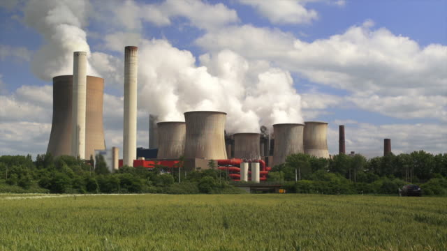 HD Coal Power Plant (Real Time) (4:2:2) video