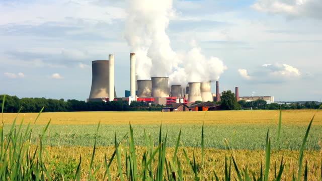Coal Power Plant video