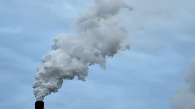 Coal_Smoke_Pipe_Wide_HD video