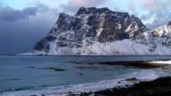 Coast beach in Norway video