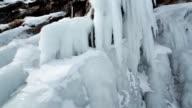 Coast into ice icicles video