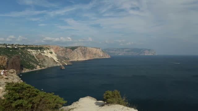 coast landscape video