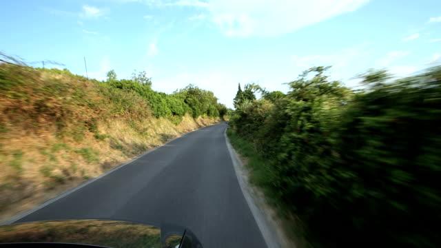 Coastal drive video