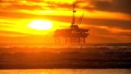 Coastal Oil Production Platform video