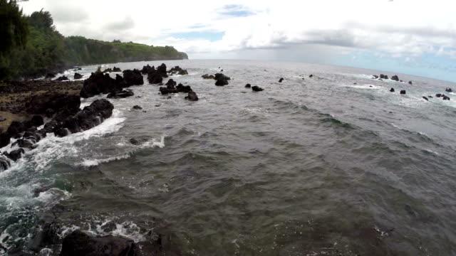 Coastline Aerial video