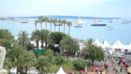 Coastline in Cannes video